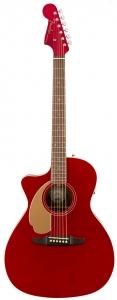 FENDER NEWPORTER PLAYER LEFT HAND CANDY APPLE RED WALNUT CHITARRA MANCINA
