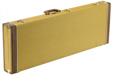 FENDER CLASSIC CASE CLASSIC STRATOCASTER TELECASTER TWEED