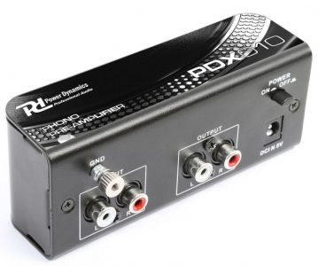 EGO TECHNOLOGIES PDX010 PREAMPLIFICATORE