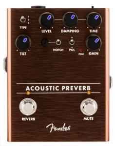 Fender Acoustic Preverb Acoustic Preamp Reverb
