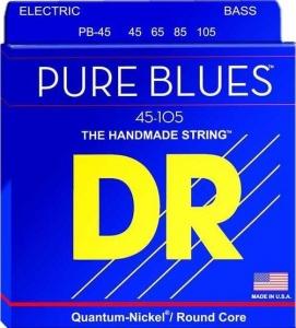 DR STRINGS MUTA PB45 PURE BLUES BASS 45-105 MEDIUM