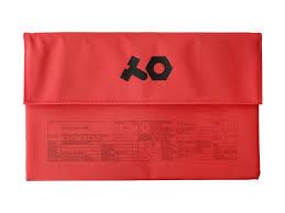 TEENAGE ENGINEERING TE PVC Roll up red Bag