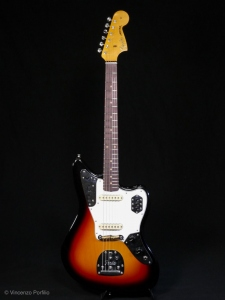 Fender 64' Jaguar Reissue Lush Closet Classic 3 Color Sunburst