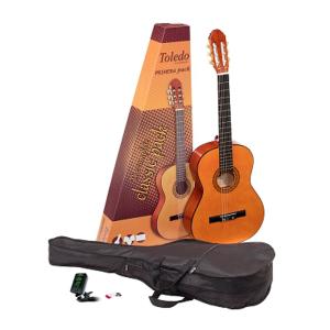Toledo Primera 44 Natural 4/4 Guitar Pack