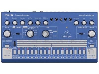 Behringer Rd6 BU Analog Drum Machine