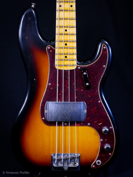 FENDER 2019 POSTMODERN BASS JOURNEYMAN RELIC AGED FADED 3COLOR SUNBURST 0