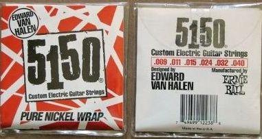 ERNIE BALL 5150 PURE NICKEL WRAP  09-40 VAN HALLEN