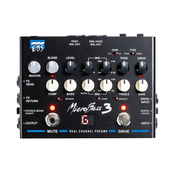 EBS MICROBASS 3 PEDALE EFFETTO