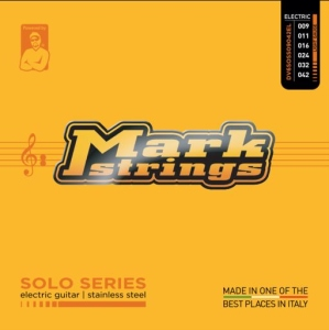 Dv Mark Muta per Chitarra Elettrica Solo Stainless Steel Light 09-42