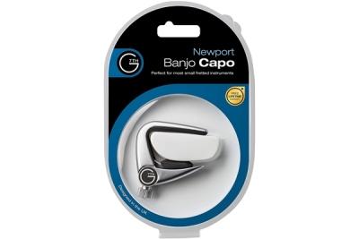 G7TH Newport Banjo-Ukulele Silver Capo