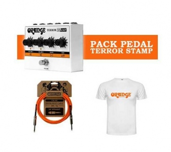 ORANGE TERROR STAMP PACK CON CAVO E MAGLIETTA