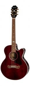 EPIPHONE EJ-200 COUPE WINE RED