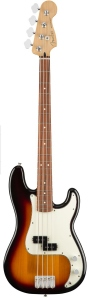 Fender Player Precision Bass Pau Ferro 3Tone Sunburst