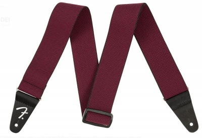 FENDER TRACOLLA WEIGHLESS RED TWEED STRAP