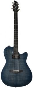 GODIN A6 ULTRA DENIM BLUE FLAME LIMITED EDITION