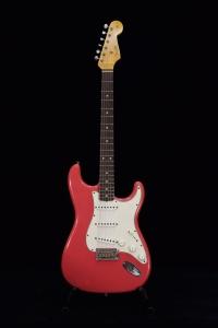 Fender Limited 62/63 Stratocaster Journeyman Relic Rw Aged Fiesta Red