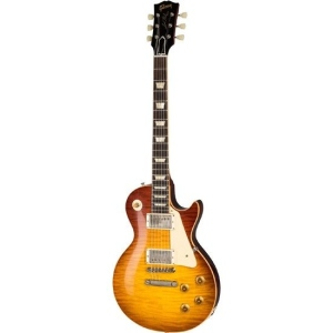 GIBSON CUSTOM 1959 LES PAUL STANDARD VOS ORANGE SUNSET FADE 60TH ANNIVERSARY