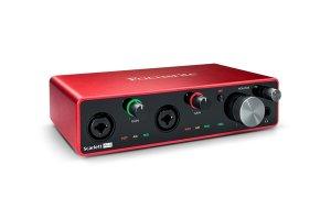 Focusrite Scarlett 4I4 3Rd Gen Scheda Audio Usb