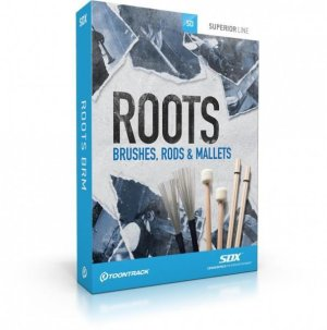 TOONTRACK SDX Roots: Brushes, Rods and Mallets (Boxed)