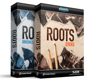 TOONTRACK SDX Roots: Bundle Sticks + Brushes, Rods and Mallets (Codice)