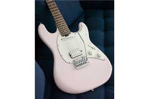 Sterling by Music Man Cutlass Short Scale HS Shell Pink Tastiera Lauro